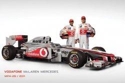 Mclaren Bolid F1 (Mp4-26 & Drivers) - plakat