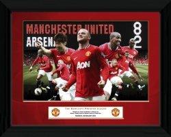 Manchester United 8 Goals - obraz w ramie