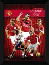 Obraz na ścianę - Manchester United Giggs Legend