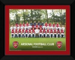 Arsenal Team Photo 11/12 - obraz w ramie
