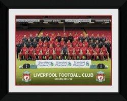 Obraz na ścianę - Liverpool Team Photo 11/12
