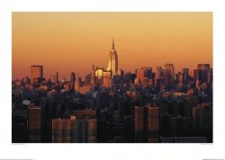 Panorama Manhattanu - reprodukcja