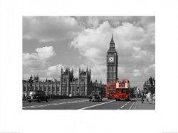 Big Ben, Czerwone autobusy - reprodukcja