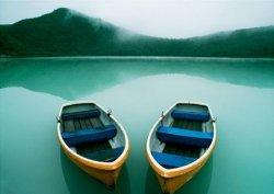Łódki, Jezioro - reprodukcja