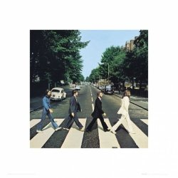 The Beatles Abbey Road - reprodukcja