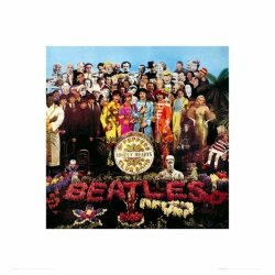 The Beatles Sgt Pepper - reprodukcja