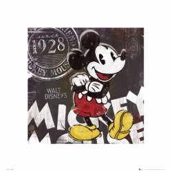 Mickey Mouse Chalk - reprodukcja