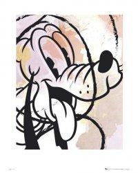 Pluto Drawing - reprodukcja