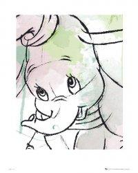 Dumbo Drawing - reprodukcja