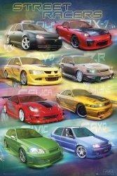 Max Power street racers - plakat
