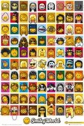 Smiley Characters - plakat