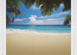 Malediwy, Plaża - plakat