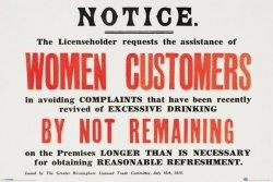 Women Customers - plakat