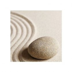 Kamień na piasku - reprodukcja