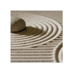 Kamienie na piasku, zen - reprodukcja