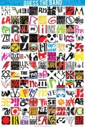 Guess The Logo Band - plakat