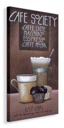 Café Society - Obraz na płótnie