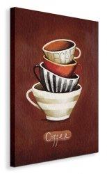 Coffee - Obraz na płótnie