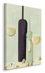 Wine And Grapes - Obraz na płótnie