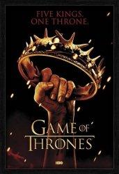 Gra o Tron Crown - obraz w ramie