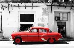 Fototapeta na ścianę -  Samochód Cadillac, Cuba - 175x115cm
