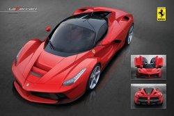 Ferrari (Laferrari) - plakat