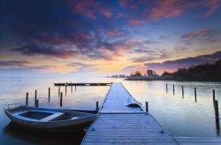 Fototapeta na ścianę - Wschód słońca - 175x115cm