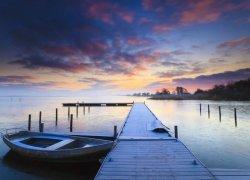 Fototapeta na ścianę - Wschód słońca - 254x183 cm