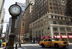 Fototapeta na ścianę - Zegar na Avenue, New York - 366x254 cm