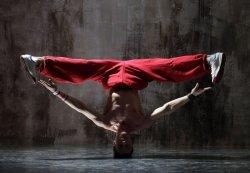 Fototapeta na ścianę - Czerwony tancerz - 366x254 cm