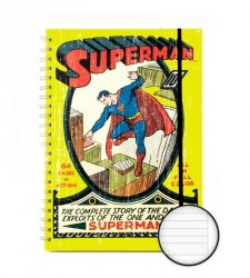 DC Comics (Superman No. 1 A4 Notebook) - notes