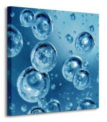 Wodne bańki - Obraz na płótnie