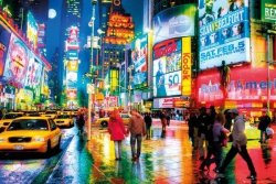 Nowy Jork Times Square - plakat