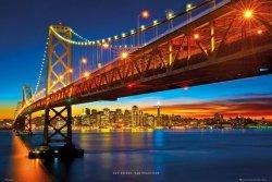 San Francisco Wielki Most - plakat