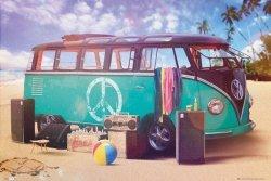 VW Camper Party - plakat