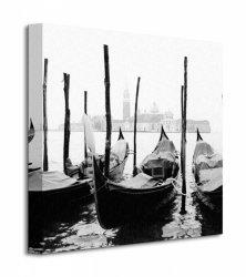 Wenecja, gondole - Obraz na płótnie