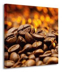 Ziarna Kawy, detale - Obraz na płótnie