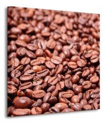 Fried coffee grain - Obraz na płótnie