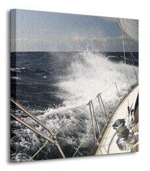 Wzburzone morze - Obraz na płótnie