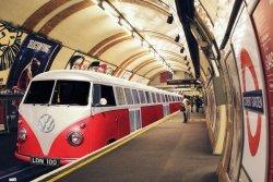 VW Camper Tube - plakat