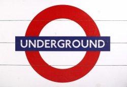 Obraz na drewnie - London Underground Sign