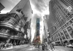Fototapeta na ścianę - Times Square Silver (New York) - 366x254 cm