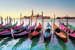 Wenecja Gondole - plakat