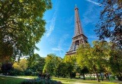Fototapeta na ścianę - Paryż  Wieża Eiffla - 366x254 cm - KLEJ GRATIS!