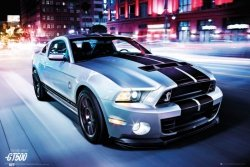 Ford Shelby GT500 2014 - plakat