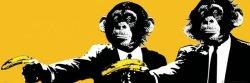 Pulp Fiction Monkeys - plakat