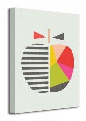 Little Design Haus (Geometric Apple)  - Obraz na płótnie