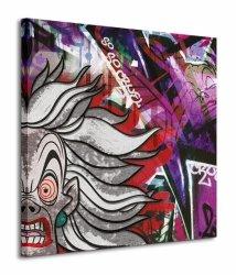 Cruella Deville (Graffiti) - Obraz na płótnie