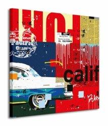 Cali Car - Obraz na płótnie