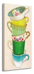 Obraz do sypialni - 6 Tea Cups
